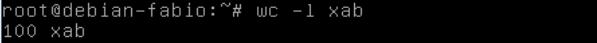 como dividir arquivos em partes no linux com o comando split