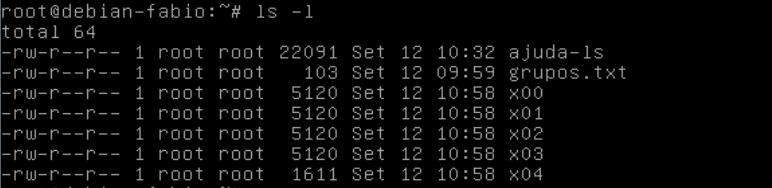 dividir archivos en linux con el comando split