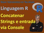 Concatenar strings e entrada de dados com readline em linguagem R