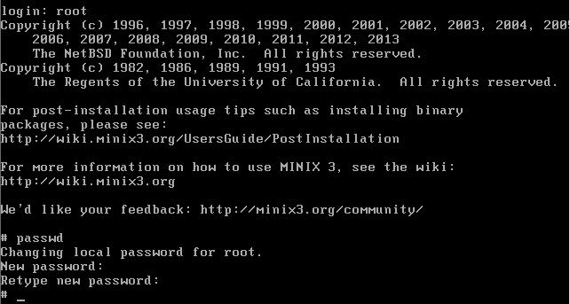 So installieren Sie das MInix 3.3-Betriebssystem