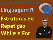 Estruturas de Repetição While e for em linguagem R