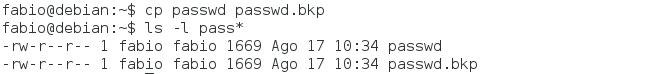 Como copiar arquivos no Linux com o comando cp