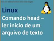 Ler linhas iniciais de um arquivo de texto no linux com comando head