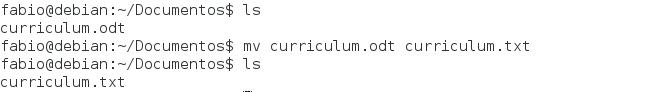como renomear arquivos no Linux com o comando mv
