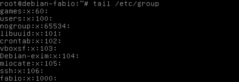 Comando tail no Linux