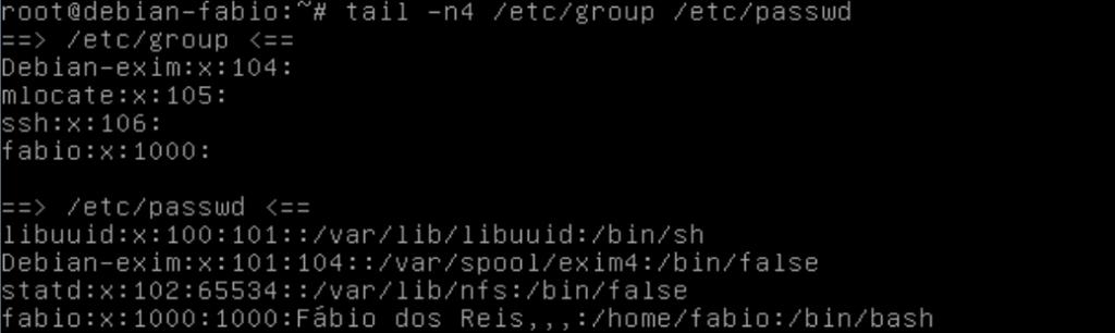 Como usar o comando tail no linux para ver o final de um arquivo