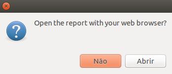 Abrir relatório do hardinfo no linux