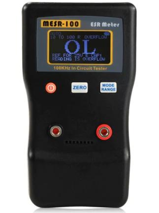 Medidor de ESR - ESR Meter para capacitores