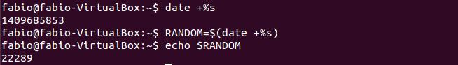 Criar números aleatórios no Linux