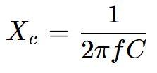 Fórmula da Reatância Capacitiva em Eletrônica