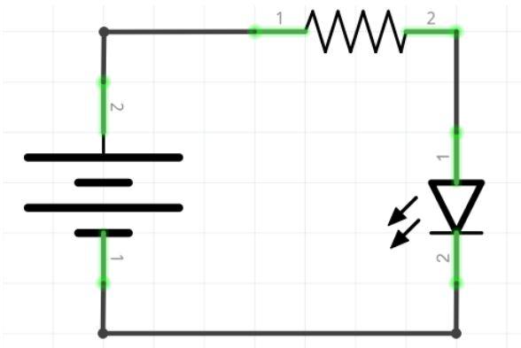 Resistor em Série para LED