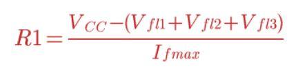 Fórmula da Associação em Série de LEDs