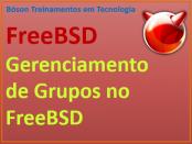 como gerenciar grupos no FreeBSD via linha de comandos