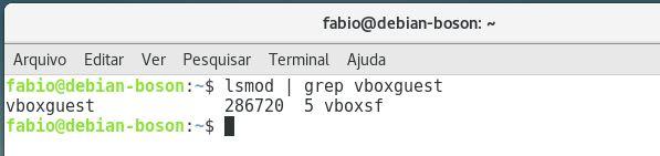 VBoxAdditions instalado no linux debian