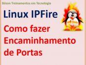 Como realizar encaminhamento de portas com o Linux IPFire