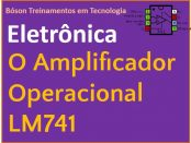 O amplificador operacional LM741