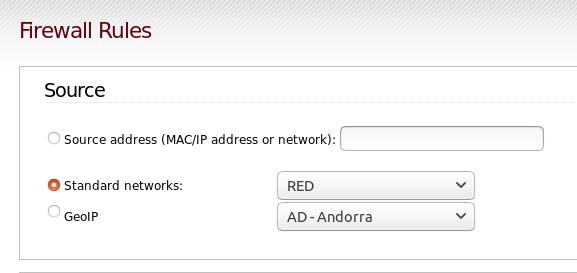 Encaminhamento de Portas com IPFire - Seção Source NAT