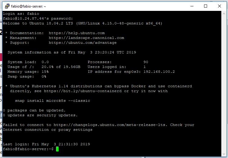 Encaminhamento de portas com ipfire acesso via ssh e windows