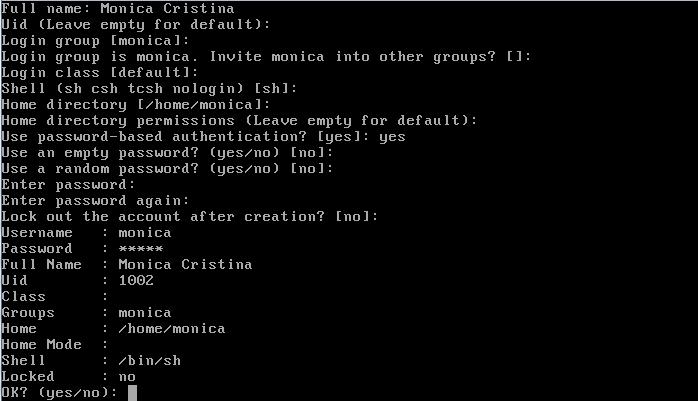 Como adicionar usuários no FreeBSD