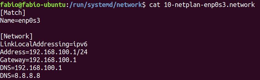 utilitário netplan no Ubuntu Linux 18.04