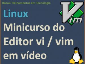 Curso de vi no Linux em vídeo