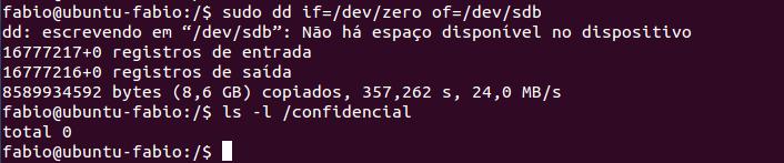 Clonar discos no Linux com dd