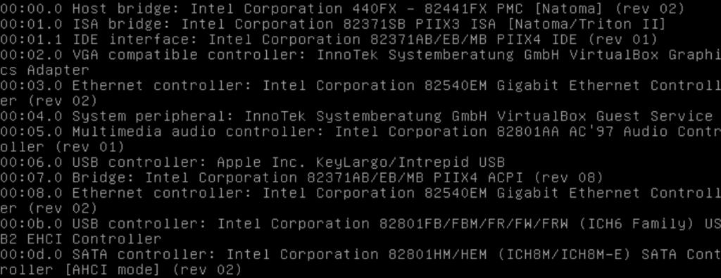 Comando lspci no Linux