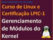 Gerenciamento de módulos do Kernel do Linux