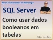 Como usar tipo booleano em tabelas do SQL Server