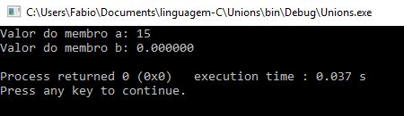 Unions em linguagem C - 02