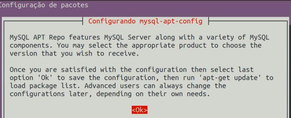 mysql-apt-config no ubuntu linux