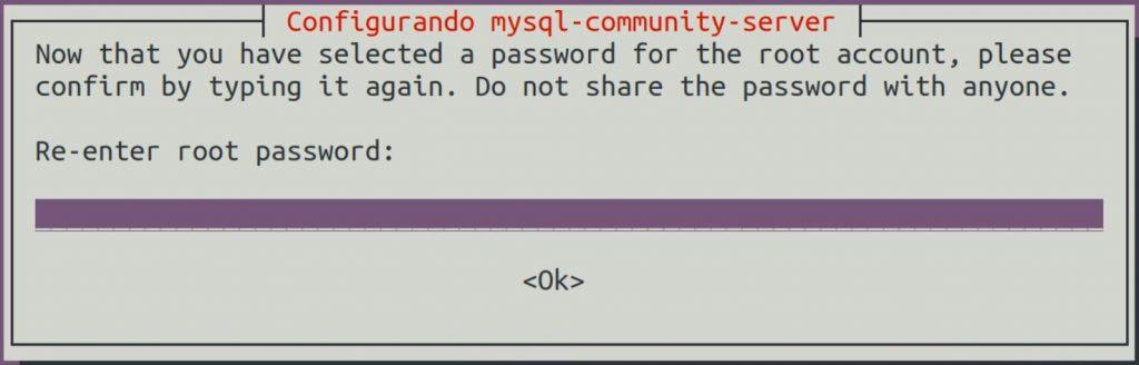 Configurar senha de root no MySQL Server no Linux Ubuntu
