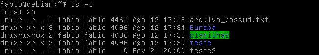 criar diretórios no Linux com mkdir