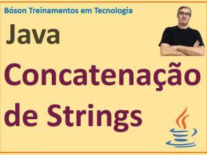 Concatenação de strings em Java