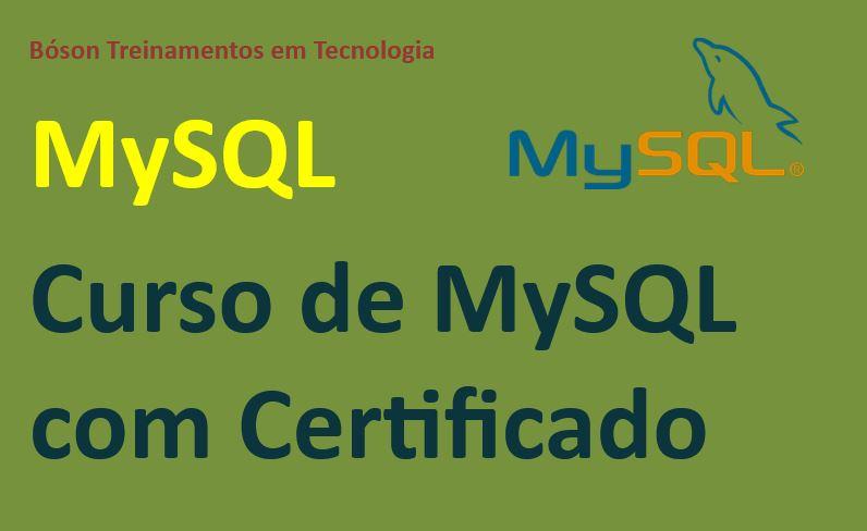 Curso de MySQL com Certificado