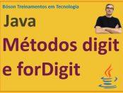 Métodos digit e forDigit da classe Character em Java