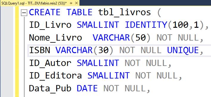 Mostrar números de linhas no Microsoft SQL Server Management Studio