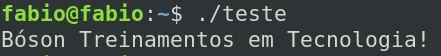 Compilar programas com gcc no linux Debian 10