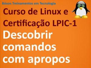 O comando apropos no Linux