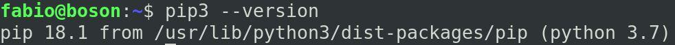 Instalar gerenciador pip linux debian 10