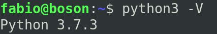 Python 3 instalado no linux debian