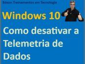 Desabilitar telemetria de dados no windows 10