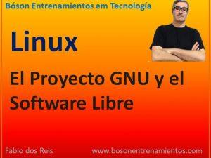 Proyecto GNU y el software libre en Linux