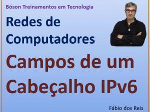Descrição dos campos de um cabeçalho IPv6