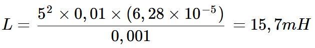 Exercício de Cálculo de Indutância 01
