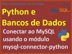 Acessar banco de dados mysql via python
