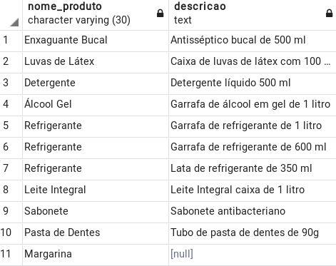 Exemplo 05 cláusula ORDER BY no PostgreSQL