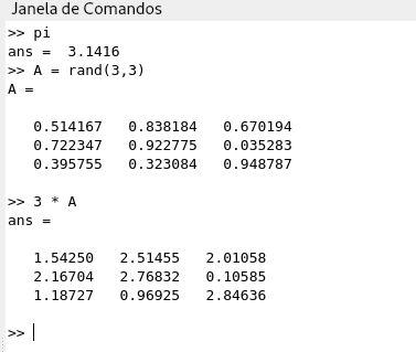 Executar comandos do GNU Octave no Linux Debian GUI