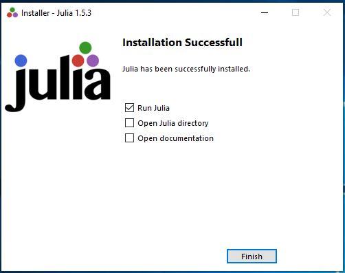 Instalação do Julia no Windows