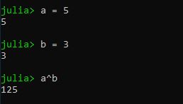 Efetuando cálculos com a linguagem Julia no Windows